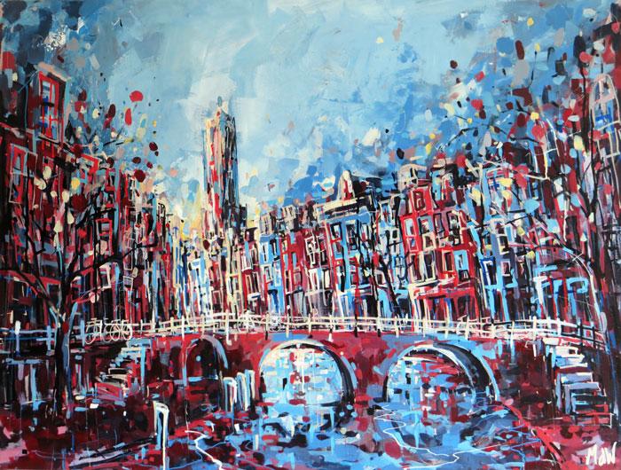 Domtoren Van Utrecht Domtoren Utrecht | Schilderij