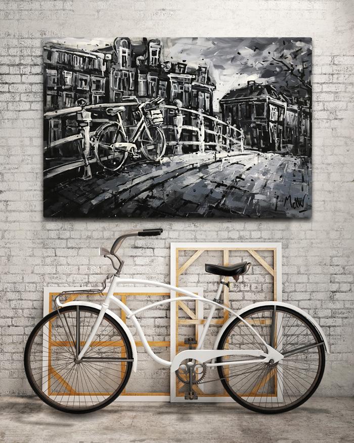 Schilderij reguliersgracht