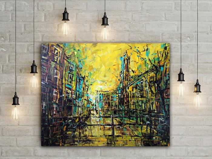 Schilderij Utrecht – Gaardbrug