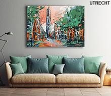 Schilderij Mariaplaats Utrecht