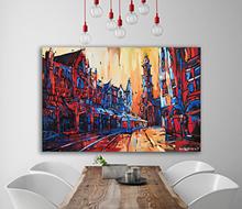 Schilderij Raadhuisstraat & Westertoren