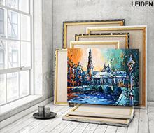 Schilderij Koornbrug Leiden