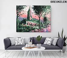 Schilderij Breukelen